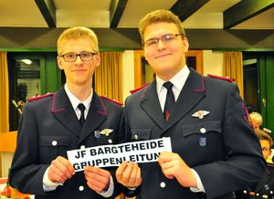 """Der """"alte"""" und der neue Jugendgruppenleiter; Fabian und Hendrik"""