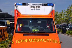 Der ehrenamtlich besetzte RTW des ASB RV Stormarn-Segeberg