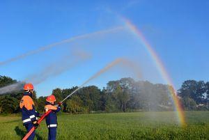und den Regenbogen haben wir in Bargteheide gefangen!