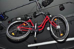 Der Hauptgewinn - ein Fahrrad