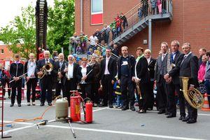Die Musiker des Stadtorchesters  Bargteheide