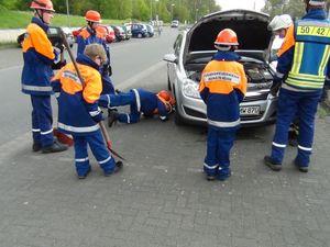 Flüssigkeitsverlust bei einem Fahrzeug...