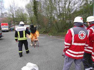 So kann es aussehen, wenn beim angrillen Unsachgemäß, mit Brandbeschleuniger, gearbeitet wird.