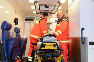 Auch die Rettungsdienstler sind nicht arbeitslos...