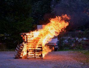 Ein Feuer darf nicht fehlen...