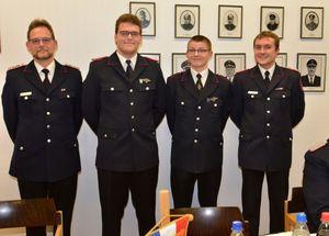 Manfred, Hendrik, Franz und Dominik